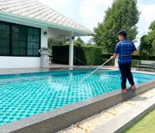 บริการดูแลสระว่ายน้ำ